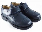 Zapato blucher con velcro