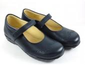 Zapato colegial velcro